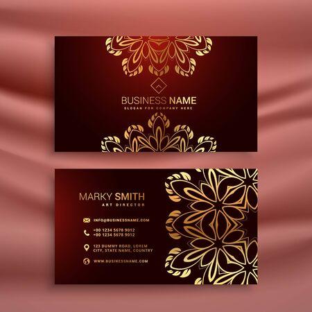 abstract modern business card illustration design template design illustration