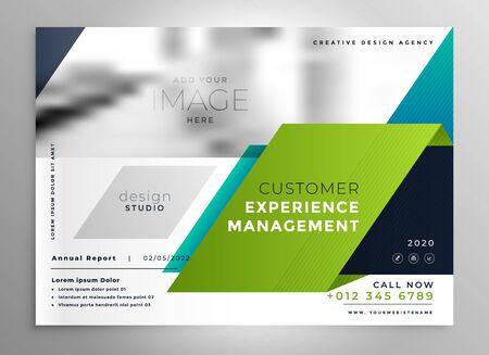 abstract stylish brochure presentation template
