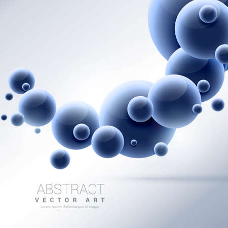 blue molecules science background