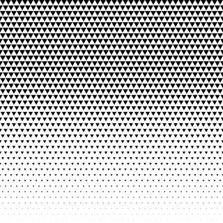 triangle pattern design halftone vector