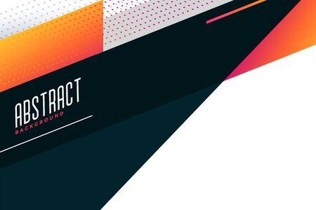 abstract stylish geometric background design Vetores