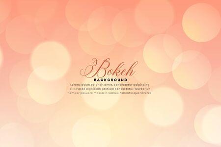 soft blurred bokeh background design
