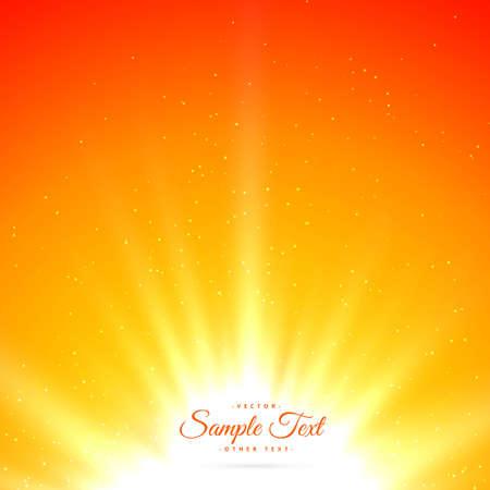 bright shiny sunburst background Vettoriali