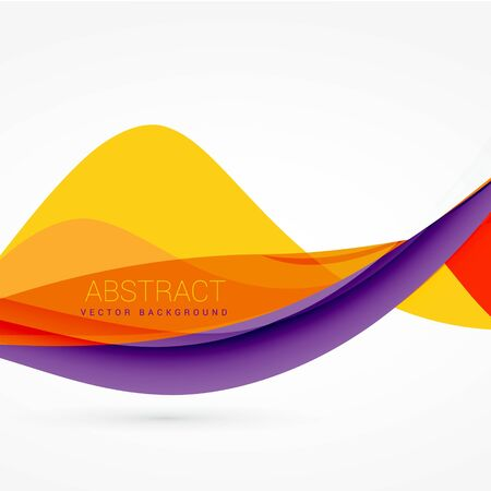 purple and yellow color wave background
