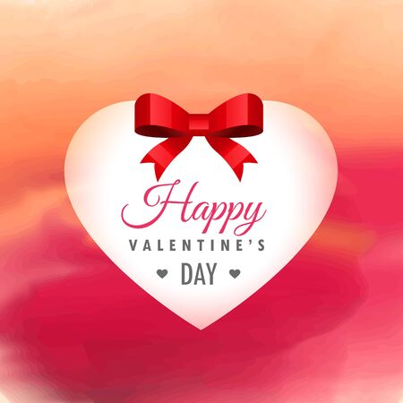beautiful heart background for valentines day design illustration