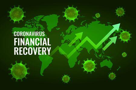 financial economy recovery after coronavirus impact design