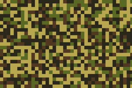 pixelated military camouflage pattern texture background design