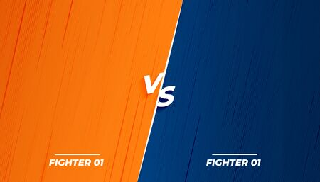versus vs fight battle background screen design