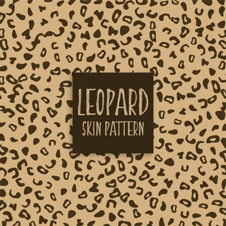 leopard skin texture print marks Illustration