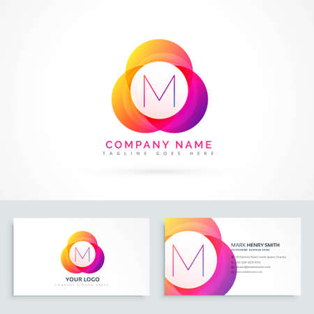 abstract concept  business symbol shape design