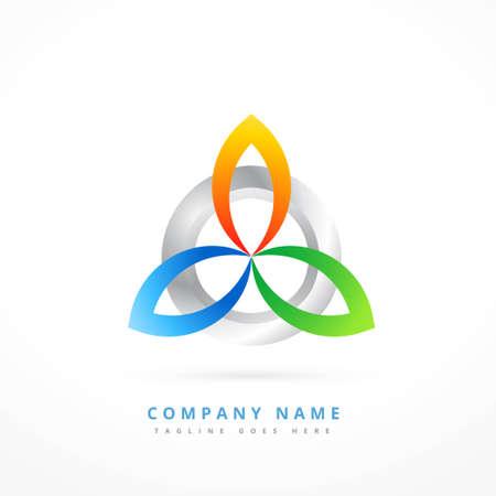 abstract concept   business symbol shape design Illusztráció