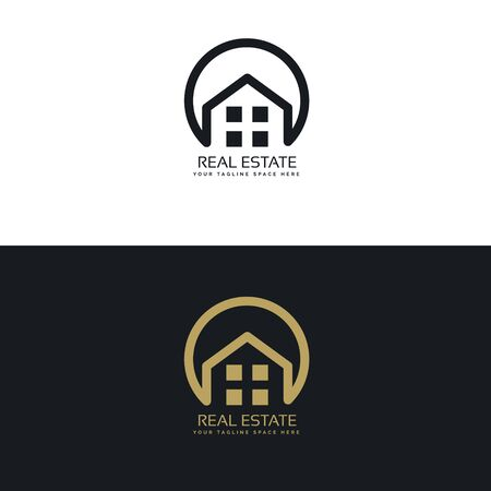 real estate icon design template