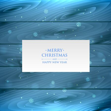 Beautiful Merry christmas greeting card with snowflakes banner Archivio Fotografico - 150248246