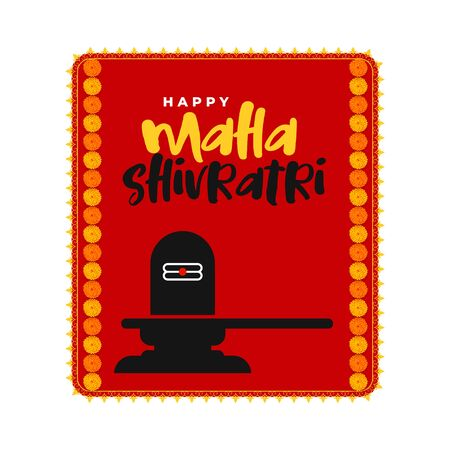lord shiva idol maha shivratri background