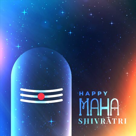 universe background with lord shiva idol
