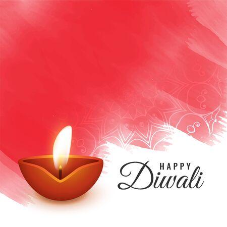 artistic diwali festival background design