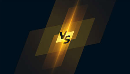 versus vs competition screen template background design Archivio Fotografico - 154440485