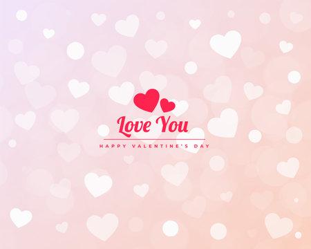 minimalist valentines day hearts pattern baner design 向量圖像