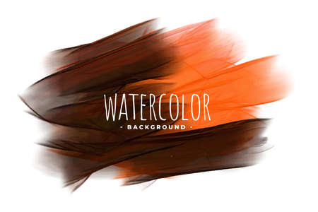 abstract orange and black watercolor texture background