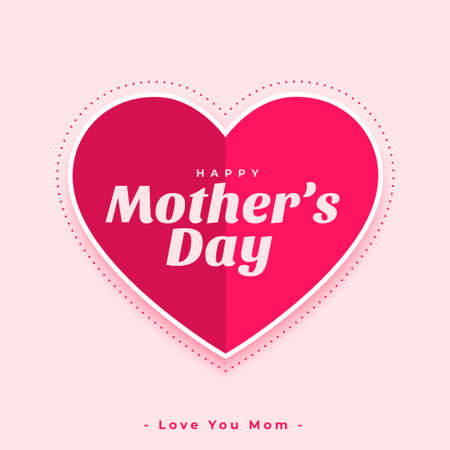 paper style mothers day wishes greeting card