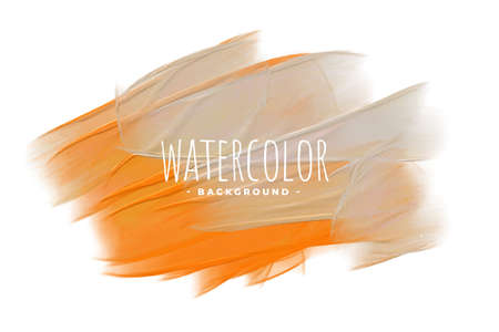 orange and gray watercolor texture blend background