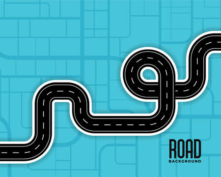 pathway route winding roads background