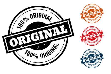 original quality rubber stamp or label set
