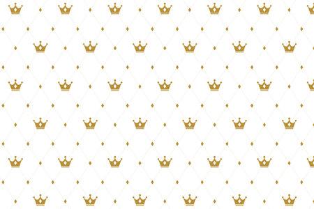 premium crown pattern texture background design