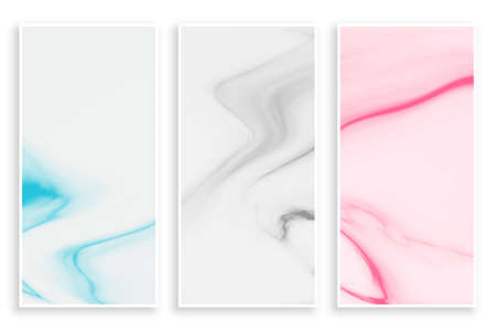 pastel color abstract marble texture banner