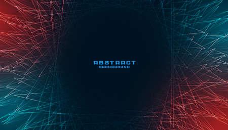 digital background with bursting line rays Vettoriali