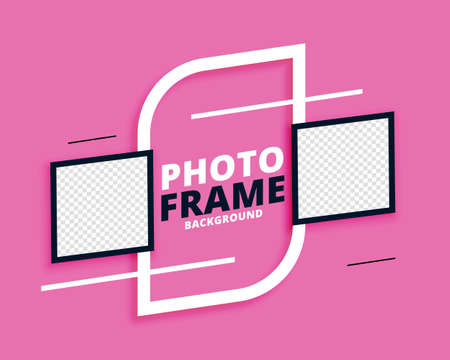 photo frames nice abstract background