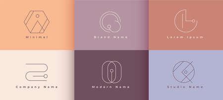 minimalist line  concept design