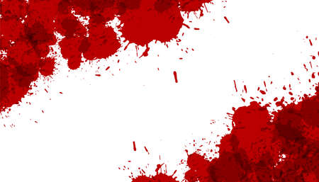 abstract ink splatter or blood stain texture background