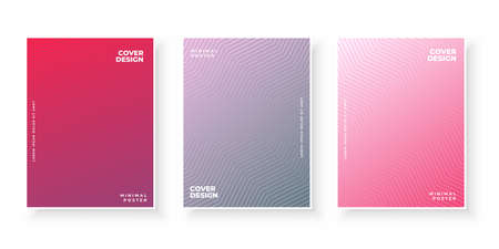 Colorful abstract background with gradient texture for cover design