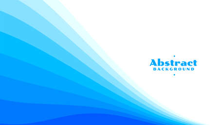 abstract blue curve lines background in different shades