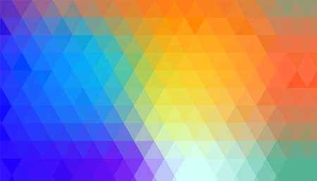 abstract colorful geometrical triangle shapes pattern background Иллюстрация