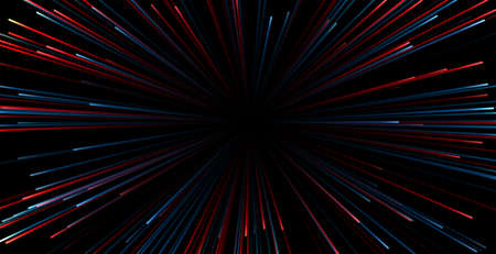 zoom light rays speed background
