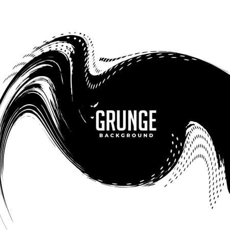 swirl grunge halftone background design