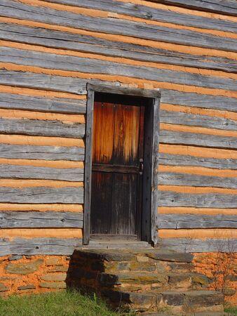 yesteryear:                                The Door Stock Photo