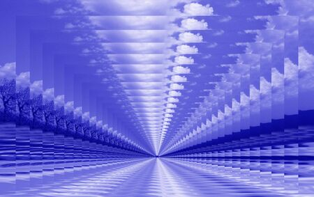 青い抽象 写真素材 - 1372547