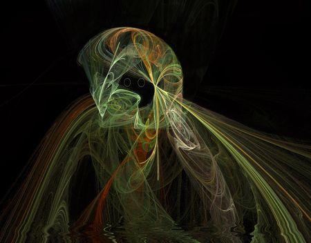 Ghostly Figure Çizim