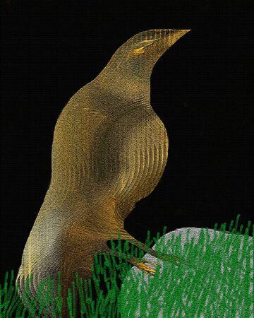Golden Bird Stok Fotoğraf - 1414755