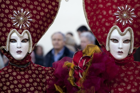 carnival mask and costumes