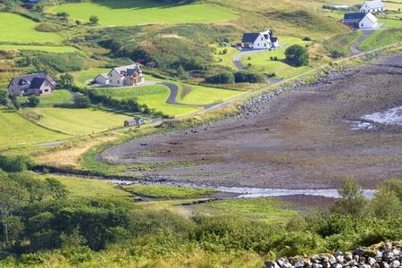 green valley in skye island