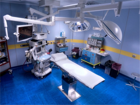 new operating room view from above