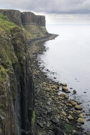 waterfalls island of Skye in August