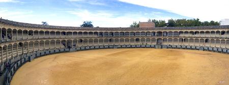 arena de toros in cordoba panoramic view
