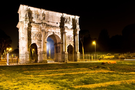 Rome and Arch of Constantine