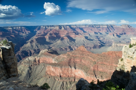 parc naturel: grand canyon,arizona,USA-august 5,2012 panoramic view of grand canyon