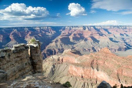 parc naturel: rand canyon,arizona,USA-august 5,2012 panoramic view of grand canyong Stock Photo